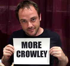 Mark Sheppard - More Crowley