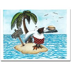 Shannon Comins Limited Edition Print Captain Bob's Fish Fry by ShannonKComins