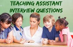 How to answer typical teaching assistant interview questions and make a great impression in your teaching job interview. Be well prepared and confident that you are on your way to success. Excellent resources for your teacher assistant job search. Interview Tips For Teachers, Teaching Interview, Common Job Interview Questions, Teacher Interviews, Jobs For Teachers, Interview Questions And Answers, Teaching Jobs, Job Interviews, Elementary Teaching