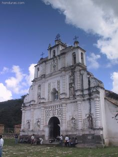 Church of San Manuel Colohuete in Gracias Honduras