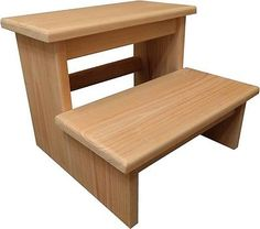 Best Handcrafted Heavy Duty Step Stool Wooden *D*Lt Bedside 400 x 300