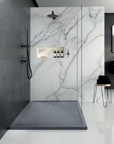 45 small bathroom decoration tips on how to make a small bathroom look like . - 45 little bathroom decorating tips on how to make a small bathroom look like it – New Ideas # loo - Bathroom Design Luxury, Modern Bathroom, Small Bathroom, Bathroom Ideas, Minimalist Bathroom, Wet Room Bathroom, Wet Room Shower, Restroom Ideas, Restroom Design