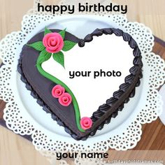 Wish your love happiest birthday ever with Chocolate birthday cake picture. Send your good wishes with birthday cake in which you can add photo and make your moment memorable. Chocolate Cake With Name, Happy Birthday Chocolate Cake, Strawberry Birthday Cake, Happy Birthday Cake Pictures, Happy Birthday Wishes Photos, Birthday Cake With Photo, Happy Birthday Wishes Images, Birthday Chocolates, Happy Birthday Cakes