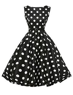 Plus Size Women Dresses Summer Style Robe Rockabilly Dress Sleeveless Polka Dot Print Retro Vintage Swing Casual Vestidos Vintage Tea Dress, Retro Dress, Vintage Dresses, Vintage Picnic, Retro Vintage, Vintage Mode, Vintage Prom, Vintage Floral, Vestidos Vintage