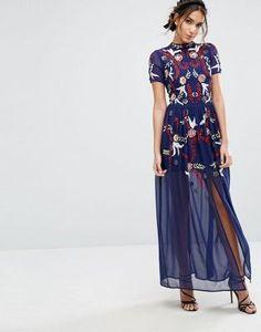 Frock & Frill Sequin Maxi Dress