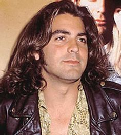 Clooney fat long hair