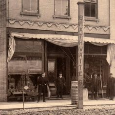#throwbackthursday to Brathwaites which was located on Simcoe Street, south of Bond. c. 1900 #Oshawa #oshawamuseum #tbt #archives