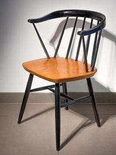 Vintage Retro Ilmari Tapiovaara Edsbyverken 50s Fanett stoel