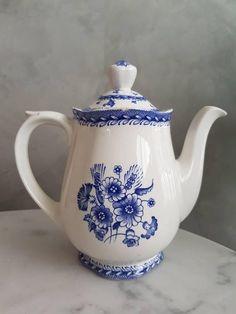 Tea Pot Set, Pot Sets, Porcelain Ceramics, China Porcelain, China Teapot, Flower Tea, Himmelblau, Duck Egg Blue, Chocolate Pots