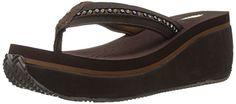 Volatile Women's Nellore Wedge Sandal, Brown, 6 B US Vola... https://www.amazon.com/dp/B019HVCSXO/ref=cm_sw_r_pi_dp_oVzzxbFNKCC2R