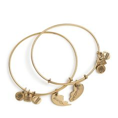 Alex and Ani bracelets - Best Friends Set of 2 Charm Bracelets, I love to give these for gifts, everyone loves them
