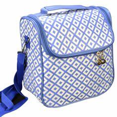 3be05229a Necessaire Feminina Bolsa Térmica Azul CBRN06236 não pode faltar em sua  coleção, aproveitem os preços