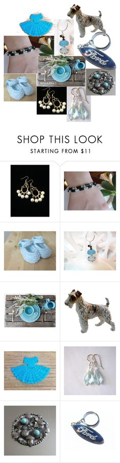 """""""Blue Monday"""" by inspiredbyten ❤ liked on Polyvore featuring Rustico and vintage"""