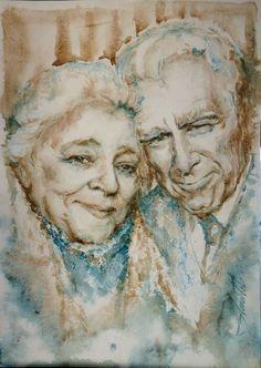 Watercolor without Drawing 30х42sm. Agoshkova.