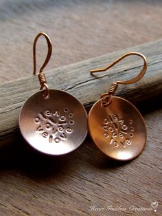 Valentine's Day Love gift  The Hand Stamped Copper by HeartGoddess, $35.00