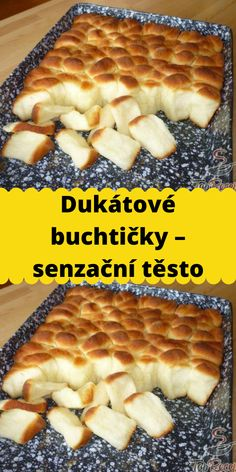 Czech Recipes, Bon Appetit, Yummy Treats, Ham, Food And Drink, Bread, Sweet, Hams, Breads