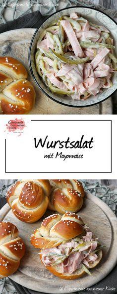 Experimente aus meiner Küche: Wurstsalat mit Mayonnaise