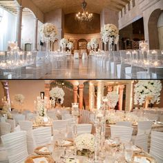 All-white ceremony for Christina and Ike, then reception  Planner: @dureevents  #BellaNaijaWeddings