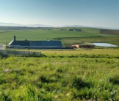 View of Orkney Brewery, Quoyloo, Orkney on a sunny morning. May 2017. Photo by Graham Brown.