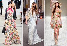 Floral, Dresses, Women, Fashion, Vestidos, Moda, Fashion Styles, Flowers, Dress
