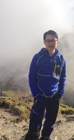 Summit of 合欢山