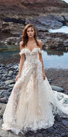 Wedding Dresses 2018 From Top Designers ★ See more: https://weddingdressesguide.com/wedding-dresses-2018/ #bridalgown #weddingdress