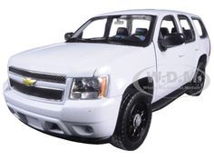 diecastmodelswholesale - 2008 Chevrolet Tahoe Unmarked Police Car White 1/24 Diecast Model Car by Welly, $16.99 (http://www.diecastmodelswholesale.com/2008-chevrolet-tahoe-unmarked-police-car-white-1-24-diecast-model-car-by-welly/)