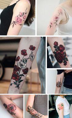 Boneca de Platina   Bruna Aureliano » Arquivos Inspiração   Tatuagem botânica no braço - Boneca de Platina   Bruna Aureliano