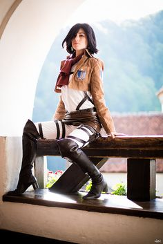 Mikasa (Attack on Titan) #Romics2014