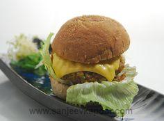 Leftover Chana Chawal Burger Recipe