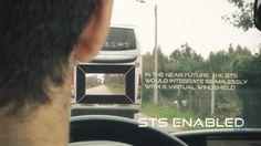 [Vídeo] Viendo a través del coche que tienes delante como si tuviera ventana transparente