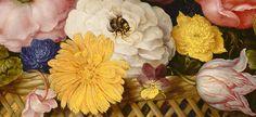 Flower Still Life (detail), Ambrosius Bosschaert the Elder, 1614