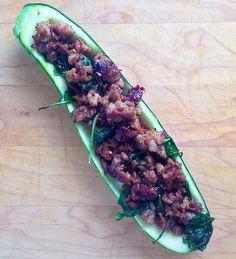 Stuffed Zucchini - How to Stuff Zucchini