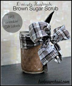 Brown Sugar Scrub w
