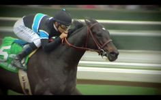 Shared Belief makes a tremendous move, tho Moreno runs his heart out. Poetry in motion, as Trevor Denman says.