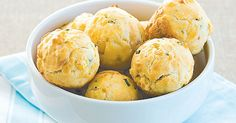 Try these savoury morsels with soup.