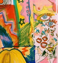 Pretty Art, Cute Art, Arte Hippy, Art Inspo, Art Sketches, Art Drawings, Bel Art, Art Du Collage, Art Du Croquis