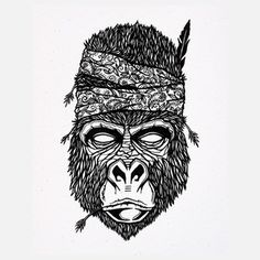 Gorilla Fighter, $29, now featured on Fab.