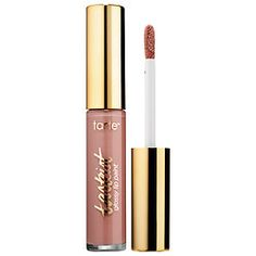 Tartest™ Glossy Lip Paint - tarte | Sephora   Obvi  warm nude