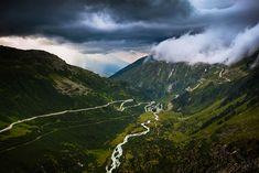 Furka & Grimsel Pass, Switzerland