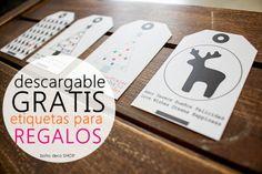 Descárgate GRATIS nuestras etiquetas de regalos de Reyes