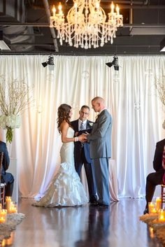 The Ivory Room in Columbus, Ohio // Upscale Black Tie Wedding Venue
