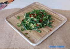 Carole's Chatter: Gingered Beans with a Spicy Mustard Vinaigrette Green Beans, Vinaigrette, Quotations, Mustard, Spicy, Friday, Stuffed Peppers, Fresh