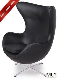 MLF Arne Jacobsen Egg Chair/Ottoman | Pinterest | Egg Chair, Arne Jacobsen  And Ottomans