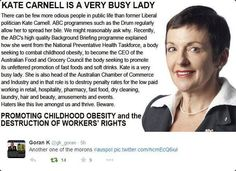 ABC needs to explain why this grub gets a voice  http://www.canberratimes.com.au/act-news/acts-controversial-former-chief-minister-kate-carnell-has-returned-to-the-main-game-selling-a-forceful-message-20140314-34s93.html…