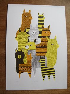 alpaca you some inks for your screen printing.. :)