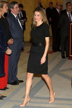 Princess Letizia of Spain ~ love these heels!