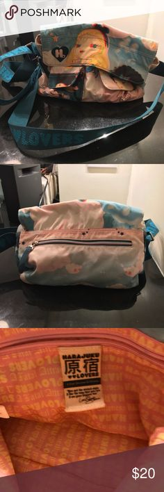 Harajuku crossover bag Crossover bag  In good condition Harajuku Lovers Accessories Bags