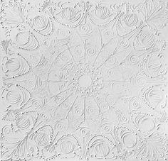white over white (textured mandalas)