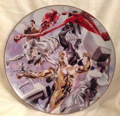 Warner Bros Gallery Collector Plate Metal Men By Alex Ross #2125/2500 In Box